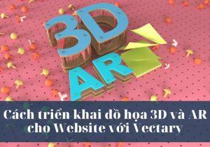 Cách triển khai đồ họa 3D và AR cho Website với Vectary 1