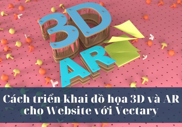 Cách triển khai đồ họa 3D và AR cho Website với Vectary 2