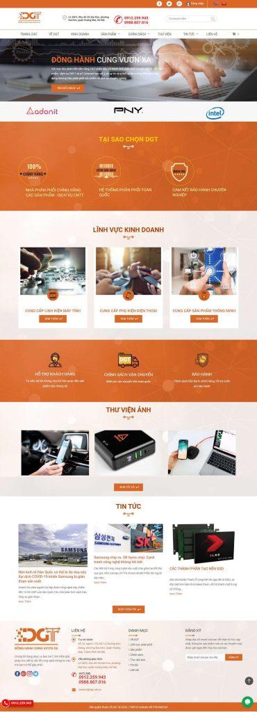 Dịch vụ thiết kế website cao cấp 10